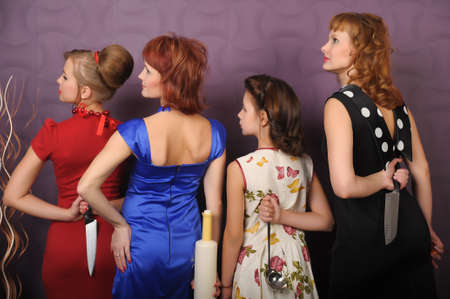 desperate housewives Stock Photo - 8939770