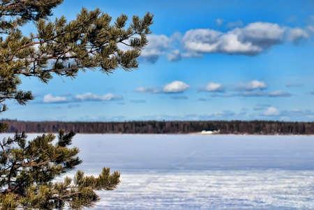 winter landscape Stock Photo - 9280461