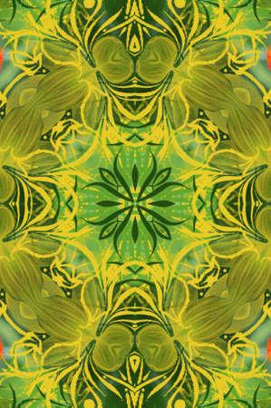 Seamless Wallpaper Pattern photo