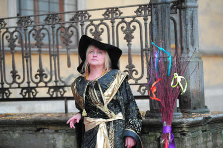witch is near the old mansion photo