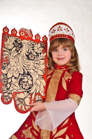 Russian girl in national dress Stock Photo - 8907984
