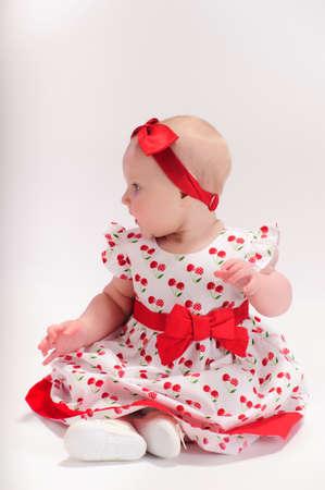 Baby girl Stock Photo - 9238165