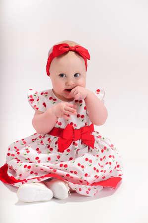 Baby girl Stock Photo - 9238158