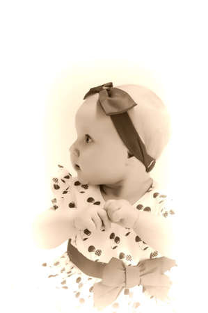Baby girl Stock Photo - 9238150