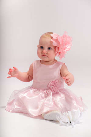 Beautiful baby girl photo