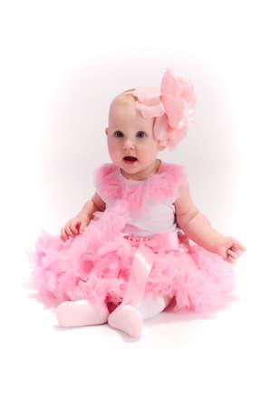 Beautiful baby girl photo