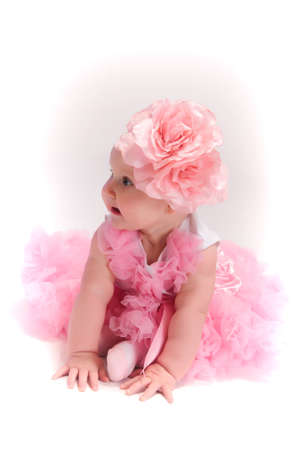 Beautiful baby girl Stock Photo - 13219456
