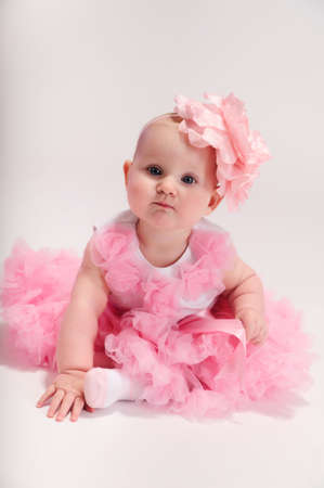 Beautiful baby girl Stock Photo - 13219460