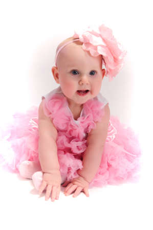 Beautiful baby girl Stock Photo - 13219455