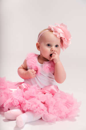 Beautiful baby girl Stock Photo - 13219462