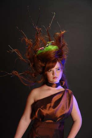 forest goddess photo