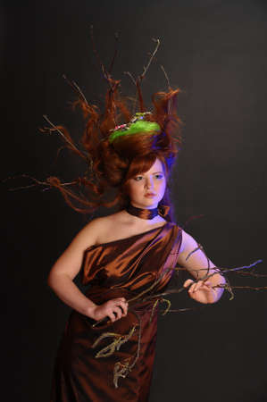 forest goddess Stock Photo - 9080894