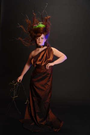 forest goddess Stock Photo - 9080884