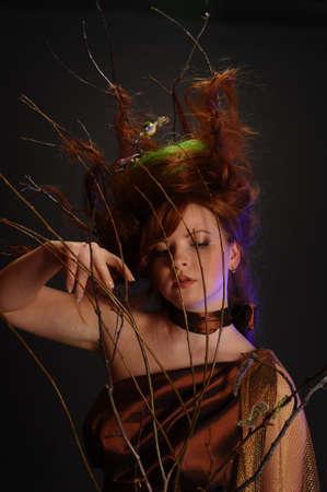 forest goddess Stock Photo - 9080911