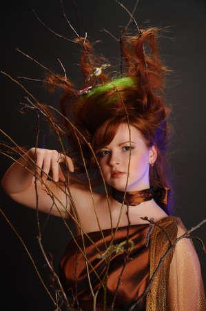 forest goddess Stock Photo - 9080927