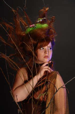 forest goddess Stock Photo - 9080925