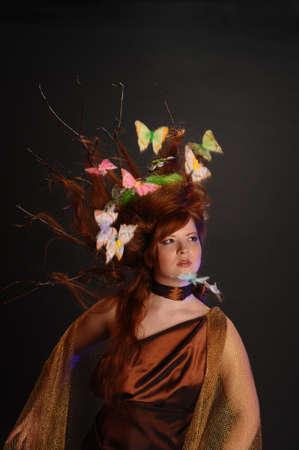 forest goddess Stock Photo - 9080913