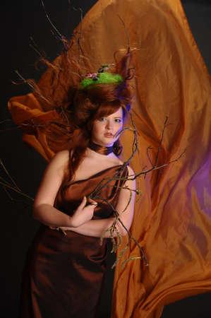 forest goddess Stock Photo - 9080906