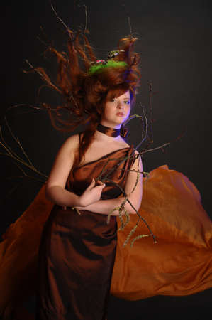 forest goddess Stock Photo - 9080891