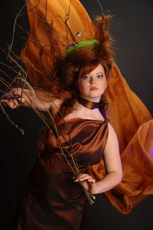 forest goddess Stock Photo - 9080904