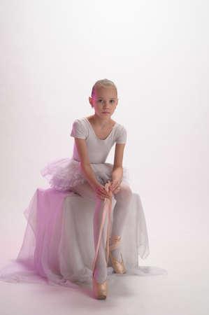 Little ballerina Stock Photo - 9080098