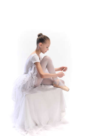 ballet slipper: Little ballerina