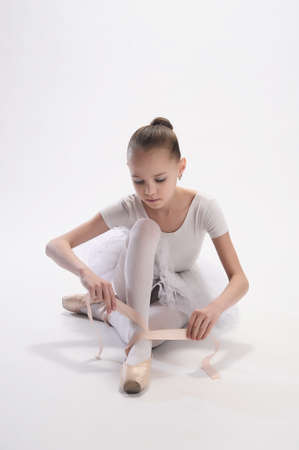 Little ballerina Stock Photo - 9080107