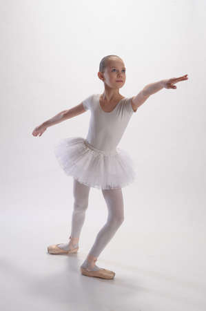 only 1 person: The ballerina Stock Photo