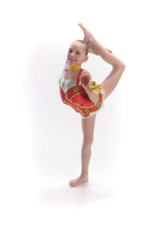 Rhythmic gymnastics Stock Photo - 9080085