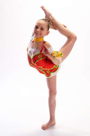 Rhythmic gymnastics Stock Photo - 9080080