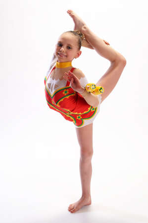 rhythmische sportgymnastik: Rhythmische Sportgymnastik Lizenzfreie Bilder