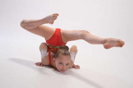 Rhythmic gymnastics Stock Photo - 9080102