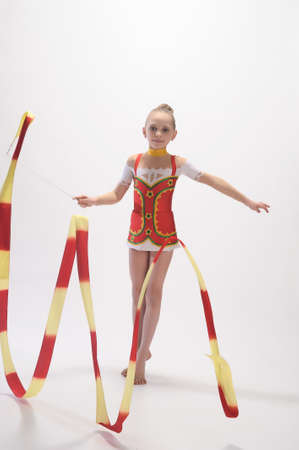 Rhythmic gymnastic photo