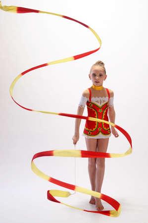 Rhythmic gymnastic photo