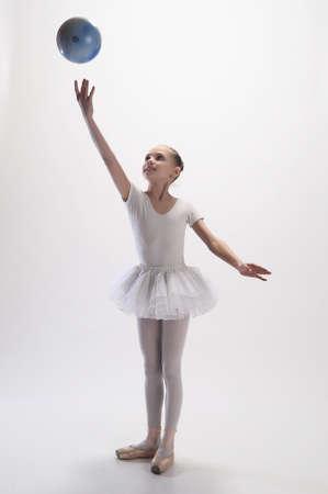 Ballerina with Ball photo