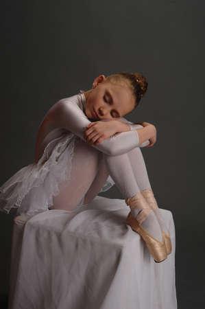 The ballerina Stock Photo - 9080140