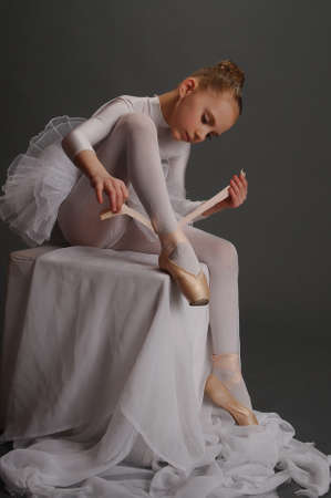 Little ballerina Stock Photo - 9080117