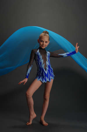 Rhythmic gymnastics photo