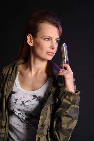 Military Woman Stock Photo - 9215651