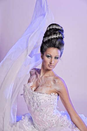 Beautiful girl like Snow White Stock Photo - 11978297
