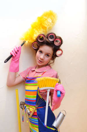 young housewife Stock Photo - 11515413