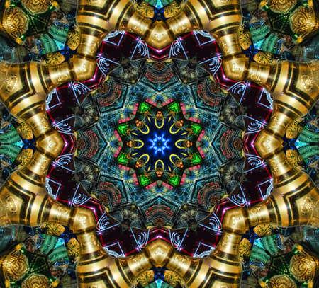 mosaic wall: mosaic pattern