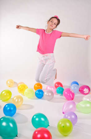 Balloon Party Girl Stock Photo - 9318777