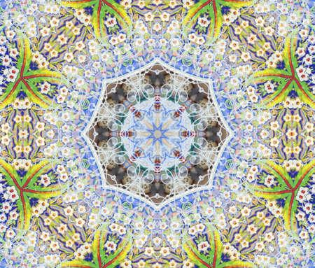 green blue circular pattern Stock Photo - 9357701