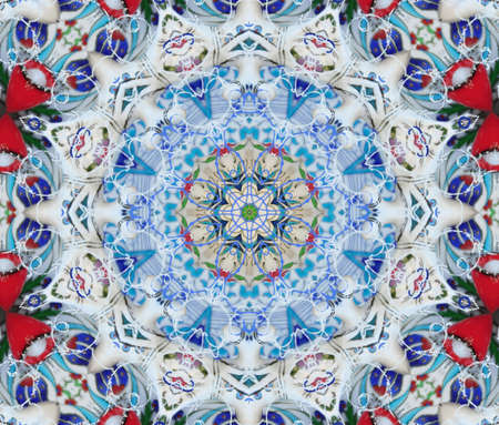 bright colorful kaleidoscope photo