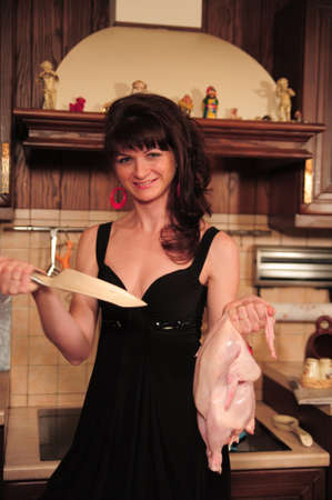 housewife burke chicken photo