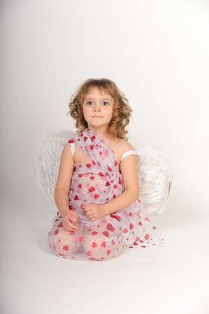 feather boa: cherub