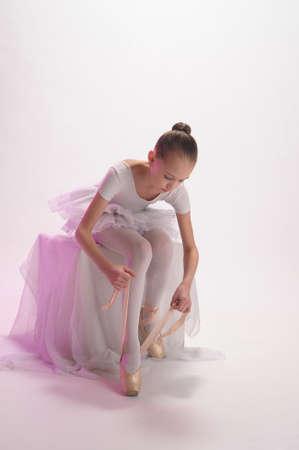 leotard: Ballett M�dchen Lizenzfreie Bilder