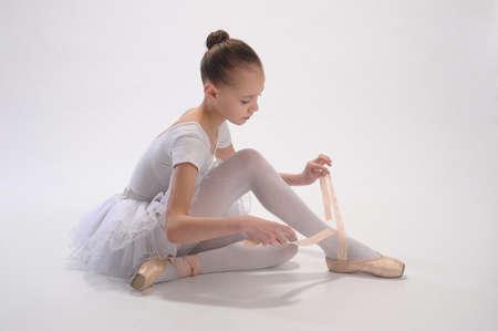 turnanzug: Ballett M�dchen Lizenzfreie Bilder