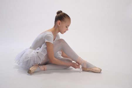 ballet: Ballett M�dchen Lizenzfreie Bilder